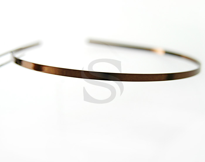 [R0014-CHO] Painless Simple, Basic Headband / Brass / 4mmx143mm