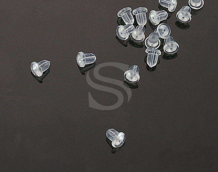 [BS0406] 5 g / Silicone Earring Cap / Silicone / 5.5mm x 5mm
