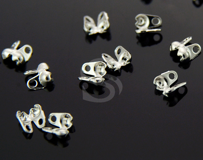 [BS0503-RF] 20 Pcs / Bead Chain End Cap / Brass / 2mm x 4mm
