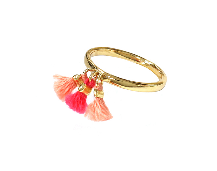 Mini Tassel Ring