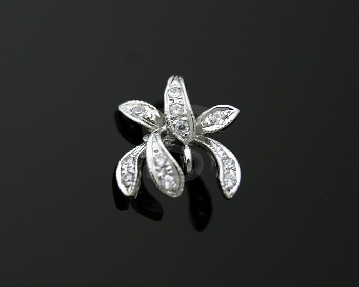 H0014PRF 2 Pcs Delicate Pendants for High End Jewelry Designers
